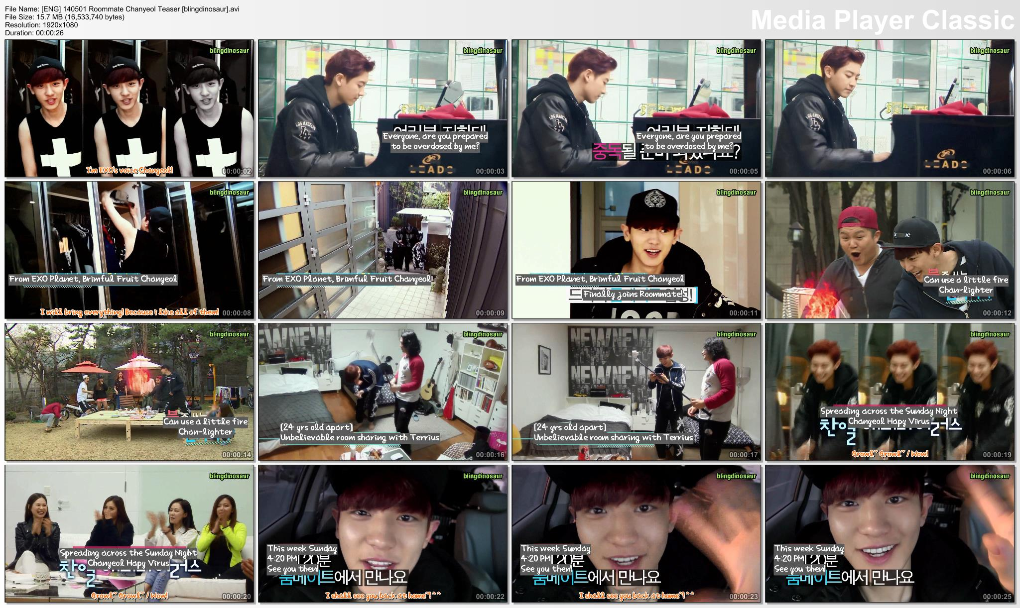 SBS Roommate Link Download Me En EXO